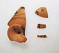 Four fragments of a terracotta kylix-Komast cup (drinking cup) MET sf20116034back.jpg