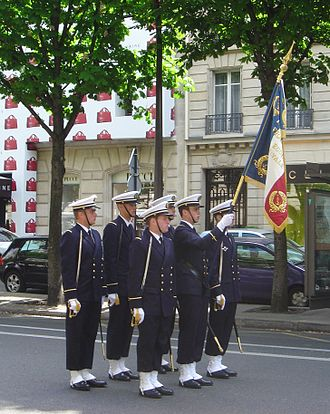 École Navale - Officers designates from the École during ceremonies of the May.