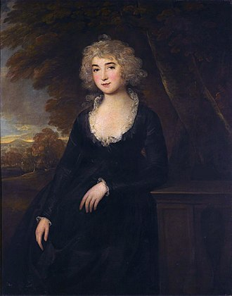Frances Villiers, Countess of Jersey - Lady Jersey by Thomas Beach.