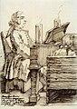 Francesco Araja, caricature de Pier Leone Ghezzi, 1731.jpg