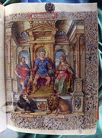 Francia, quinto curzio rufo, storia di alessandro magno, 1450-1500 ca., med. pal. 155, 02.JPG