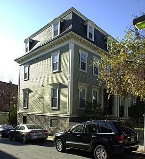 Francis B. Austin House - Image: Francis B. Austin House Boston MA 03
