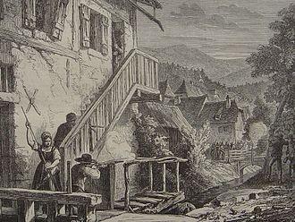 Schlieffen Plan - Image: Francs tireurs