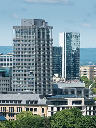 BHF Bank - Headquarters of BHF-Bank in Frankfurt am Main