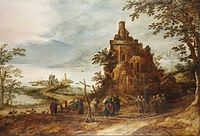 Frans de Momper and Hans Jordaens III - The Journey to Emmaus.jpg
