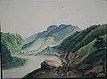 Franz Neuhauser the Younger - Valea Oltului la Turnu Roşu şi trei călători.jpg
