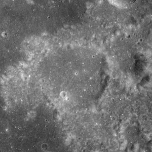 Franz (crater) - Image: Franz crater AS17 M 1795