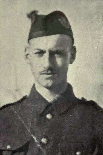 13th Battalion (Royal Highlanders of Canada), CEF - Victoria Cross recipient Frederick Fisher