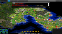Freeciv.net screenshot