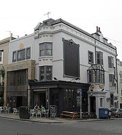 Freemasons Inn kaj Restaurant, okcidenta Vojo, Hove (IoE Code 365664).jpg