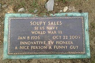 Soupy Sales - Image: Friars Club section Kensico Cem