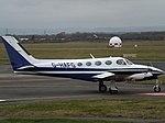 G-HAFG Cessna 340 (Pavilion Aviation Ltd) (47070301912).jpg