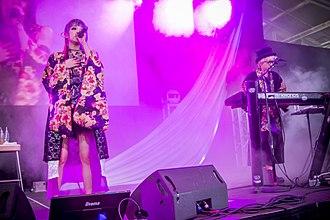Garnidelia - Image: GAR Ni DE Li A at the J Pop Summit 2016