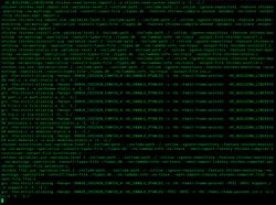 GCC 11.1.0 compiling Chicken screenshot.png