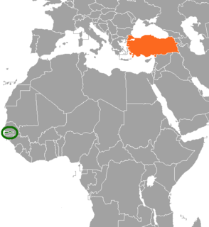 Gambia–Turkey relations Diplomatic relations between Gambia and Turkey