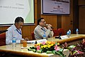 Ganga Singh Rautela and Pramod Kumar Jain - Meeting with Participants - VMPME Workshop - Science City - Kolkata 2015-07-16 8964.JPG