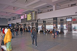 New Delhi railway station - New arrival area