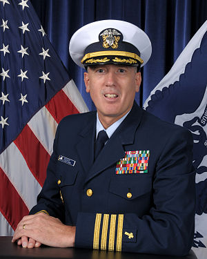 Gary P. Weeden - Captain Gary P. Weeden as 9th Chaplain of the United States Coast Guard