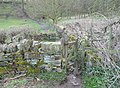 Gate and stile, Hopton, Mirfield - geograph.org.uk - 759792.jpg