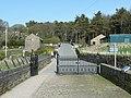 Gate onto the dam of Ogden Reservoir, Ovenden - geograph.org.uk - 1363243.jpg