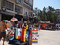 Gay Pride in Haifa 2014 - gathering (5).JPG