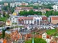Gdańsk, Marina na Nowej Motławie i Długie Ogrody (widok z kościoła Mariackiego) - panoramio.jpg