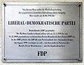 Gedenktafel Bayerische Str 5 (Wilmd) Liberal-Demokratische Partei.jpg
