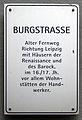 Gedenktafel Burgstr (Meißen) Burgstrasse.jpg
