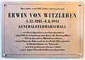 Gedenktafel Halemweg 34 (CharN) Erwin von Witzleben.jpg