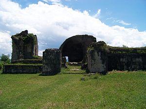 Geguti - Ruins of the royal palace of Geguti
