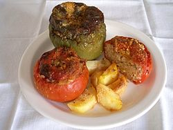 meaning of stuffed peppers