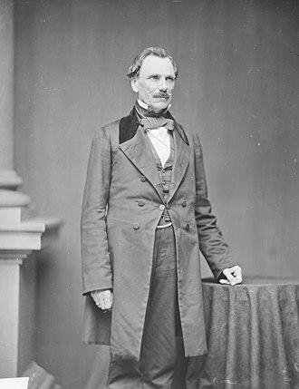 James Shields (politician, born 1806) - James Shields, photograph by Mathew Brady, c. 1863
