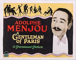 <i>A Gentleman of Paris</i> (1927 film) 1927 film by Harry d'Abbadie d'Arrast
