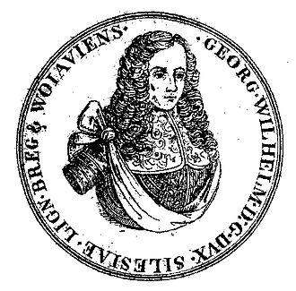 Silesian Piasts - The last legitimate Silesian Piast – George William, Duke of Liegnitz