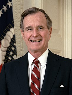 Presidency of George H. W. Bush U.S. presidential administration from 1989 to 1993