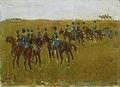 George Hendrik Breitner - Artillerie op manoeuvre.jpg