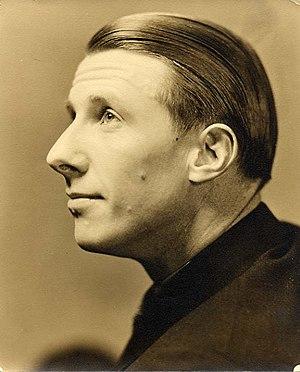 George Mann (vaudeville performer) - Self-portrait, circa 1940