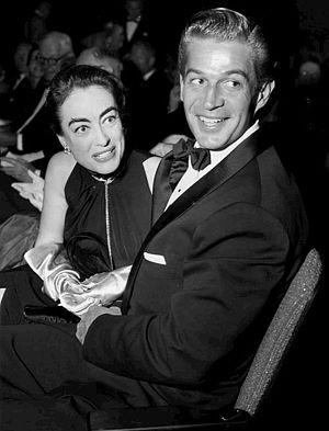 George Nader - with Joan Crawford (1954)