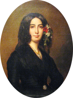 George Sand 19th-century French novelist and memoirist