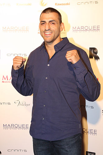 George Sotiropoulos - Image: George Sotiropoulos (UFC) 2012 (1)