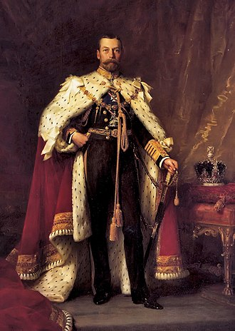History of monarchy in Australia - Image: George V of the united Kingdom