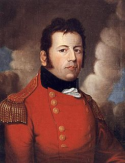George Prévost British soldier and colonial administrator