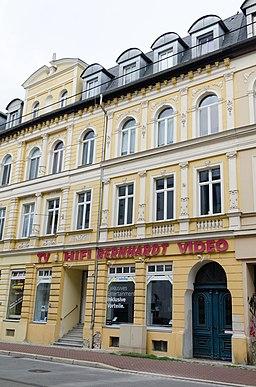 Leipziger Straße in Gera