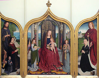 Gerard David - Triptych of the Sedano family, c.1495, Louvre Museum