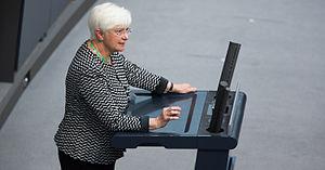 Gerda Hasselfeldt - Gerda Hasselfeldt in the German Bundestag, 2014