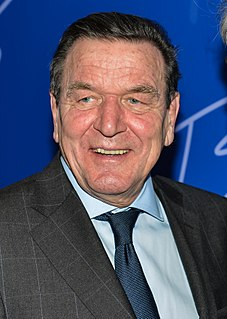 Gerhard Schröder German politician (SPD)