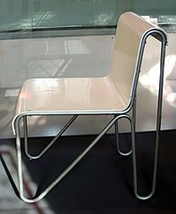 File gerrit rietveld per metz co sedia tubolare 1927 for Sedia design 2016