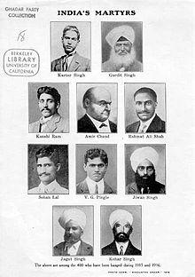 gadar movement 1915