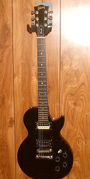 A Gibson Invader. The Invader was manufactured during the 1980's and is now discontinued.