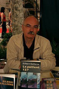 Gilbert Gallerne au Festival international du Roman Noir de Frontignan, juin 2007